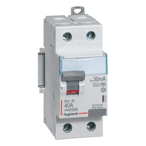 Diferencial legrand dx3 hpi superinmunizado 2x40a 30ma for Diferencial general electric