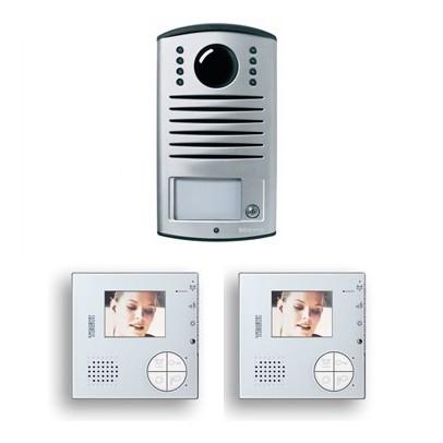 Comprar kit v2 videoportero color manos libres 2 hilos for Videoportero tegui precio
