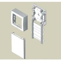 Adaptador Mecanismo Simon 73 Loft para Unex 80 (blanco y aluminio)