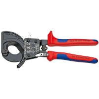 Alicate Cortacables Tipo Carraca Mango Bicomponente KNIPEX (De 250 o 280 mm)
