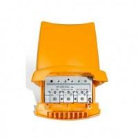 Amplificador de Mastil Televés 24V alta ganancia 42dB EasyF 3 entradas 1 salida (con filtro LTE)
