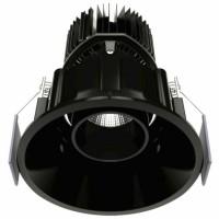 Foco Downlight LED Orientable BENEITO FAURE TAO 10W IP32 Negro