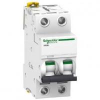 Interruptor Automático Magnetotérmico 2P iC60N 6KA SCHNEIDER de 10A a 63A