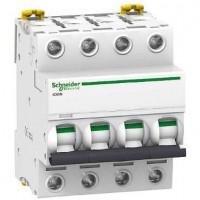 Interruptor Automático Magnetotérmico iC60N 16A 4P SCHNEIDER