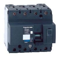 Automático Magnetotérmico NG125N 4P 25 kA Curva C SCHNEIDER (De 80, 100 y 125A)