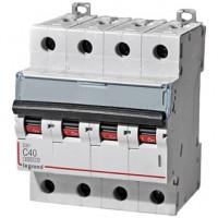 Automático Magnetotérmico LEGRAND DX3 4P 6kA Curva C (de 10 A a 63A)