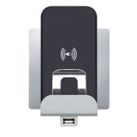 Base cargador Inducción + Cargador USB Legrand Niloé