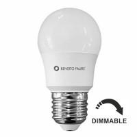 Bombilla LED Esférica Regulable 5,5W=40W E27 Beneito Faure