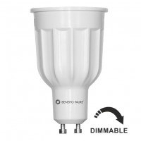Bombilla Regulable LED GU10 12W 230V 60º 1050 lúmenes Beneito Faure Power (3000K y 4000K)