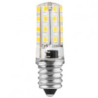 Bombilla LED Tubular Frigorífico E14 3W 360º MATEL 300 lúmenes (2700K y 6400K)