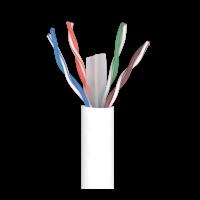 Cable datos CAT 6 U/UTP cobre Eca LSFH violeta TELEVES (Caja 305 metros)