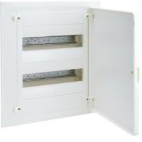 Cuadro Eléctrico empotrable GOLF VF de Hager + Puerta Blanca (4, 8, 12, 24, 36 y 48 Módulos)