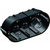 Caja doble mecanismos Tabique Hueco (PLADUR) SOLERA 5725