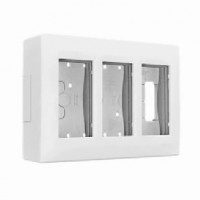 Caja de Pared de Superficie Color Blanco SIMON 500 CIMA (De 1, 2, 3, 4 o 6 Módulos)