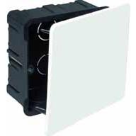 Caja Registro para tabique hueco (PLADUR) 100x100 c/ tornillo SOLERA 5362