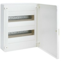 Cuadro electrico Superficie GOLF VS de Hager + Puerta Blanca (4, 8, 12, 24, 36 y 48 Módulos)
