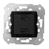 Cargador 2 USB Simon 7511096-039