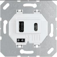 Cargador USB DOBLE de 3000 mA JUNG