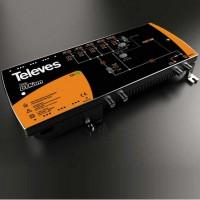 Central Amplificadora MATV DTKom Televes 1 entrada con telealimentación