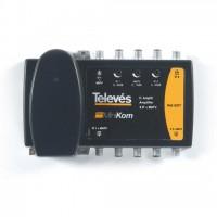 Central Amplificadora MiniKom 2 FI + MATV Televes (ICT 2 Bajantes)