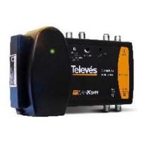 Central Amplificadora TDT Satélite Televes MiniKom 2 entradas