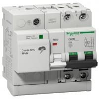 Protección Combi SPU 1P+N Schneider: IGA + Limitador de sobretensiones transitorias y permanentes
