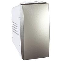 Conmutador estrecho EUNEA Unica Top Aluminio
