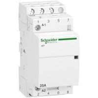Contactor Modular iCT 25A 3 NA SCHNEIDER