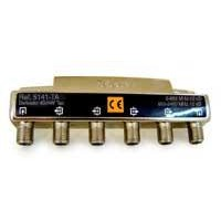 Derivador Interior Televés TDT-SAT 4 salidas 5-2400Mhz Conector F (12dB, 16dB, 19dB, 24dB y 29dB)