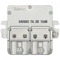 Mini-Derivador TDT-SAT 2 salidas 5-2400Mhz EasyF TELEVES