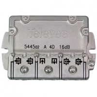 Derivador TDT-SAT 4 salidas 5-2400Mhz EasyF TELEVES