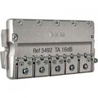 Derivador Interior Televés TDT-SAT 6 salidas 5-2400Mhz EasyF (16dB, 20dB y 24dB)