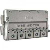 Derivador Interior Televés TDT-SAT 8 salidas 5-2400Mhz EasyF (16dB y 22dB)