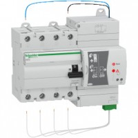 Reconectador Diferencial REDs 4x40A 30mA SCHNEIDER