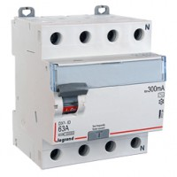 Diferencial 4P 300mA AC Terciario e Industrial LEGRAND DX3 (25A, 40A y 63A)