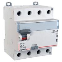 Diferencial 4P 30mA AC Terciario e Industrial LEGRAND DX3 (25A, 40A y 63A)
