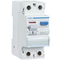 Interruptor Diferencial HAGER 2 Polos 30 mA Tipo AC (Gama Residencial)