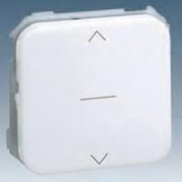 Interruptor persiana 3 posiciones Simon 31 Blanco