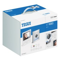 "Kit VideoPortero TEGUI SFERA NEW + Monitor Color 5"" Manos Libres CLASSE 100 V16B"