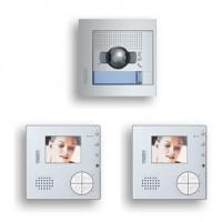 Kit V2 VideoPortero Color Manos Libres 2 hilos TEGUI SFERA NEW + Classe 100 (2 VIVIENDAS) 376142