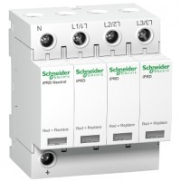 Limitador sobretension iPRD Enchufable 3P+N Tipo 2 iPRD20 SCHNEIDER