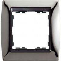 Marco SIMON 82 Acero Oscuro Zócalo Grafito (1 a 4 elementos)