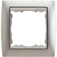 Marco SIMON 82 Aluminio Mate Zócalo Aluminio Mate (1 a 4 elementos)