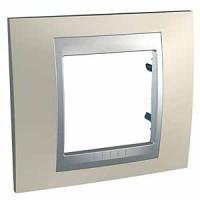 Marco Eunea UNICA TOP Titanio Opal Zócalo Aluminio (1 a 4 elementos)