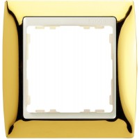 Marco SIMON 82 Oro Zócalo Marfil (1 a 4 elementos)