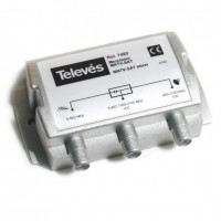 Mezclador TDT-Satélite 2e/1s RF+FI Televes 745210
