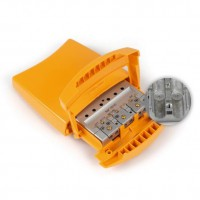 Mezclador Universal Terrestre para mastil 3e/1s FM-DAB-UHF (DC) Televes 404010