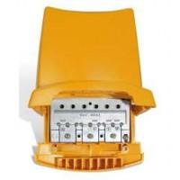 Mezclador Universal Terrestre para Mastil 3e/1s VHF-UHF-UHF (DC) Televés 404110