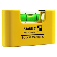 Nivel de Bolsillo Serie Pocket Magnetic STABILA