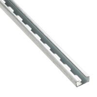 Perfil metálico perforado 20x10 Legrand (2 Metros)